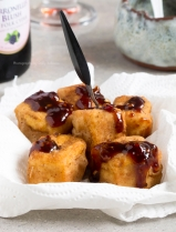 Five spice tofu with sweet and spicy sauce